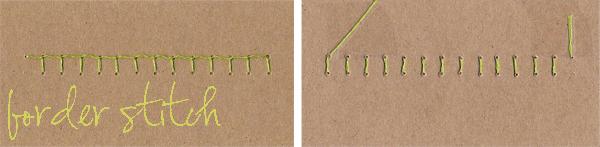 4 border stitch